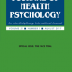 Cover of Journal of Health Psychology Special Issue August 2017